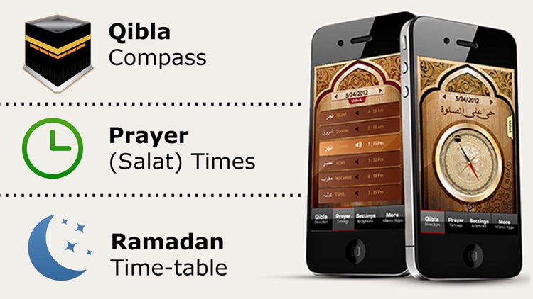 Islamic Qibla - Prayer Times screenshot-0