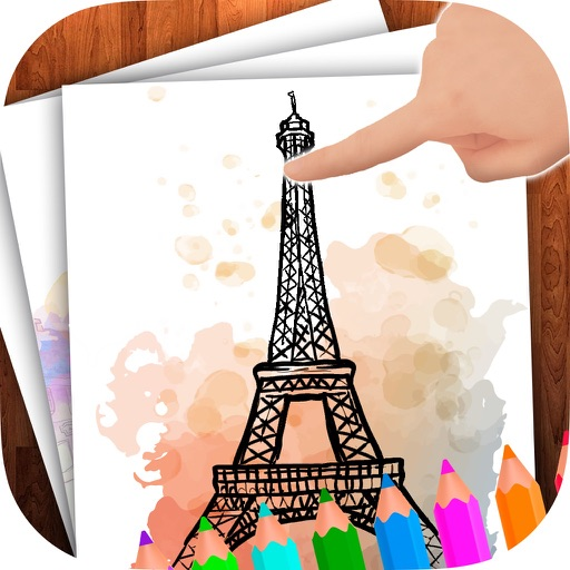 Doodle on the screen – color and draw on pictures iOS App