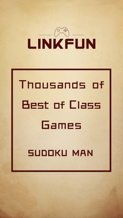 Sudoku Man - Number Puzzle