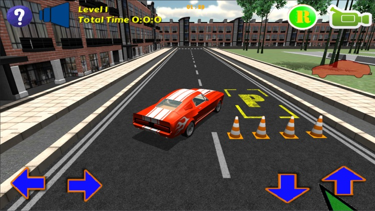 Muscle Car Parking Simulator Game PRO screenshot-3