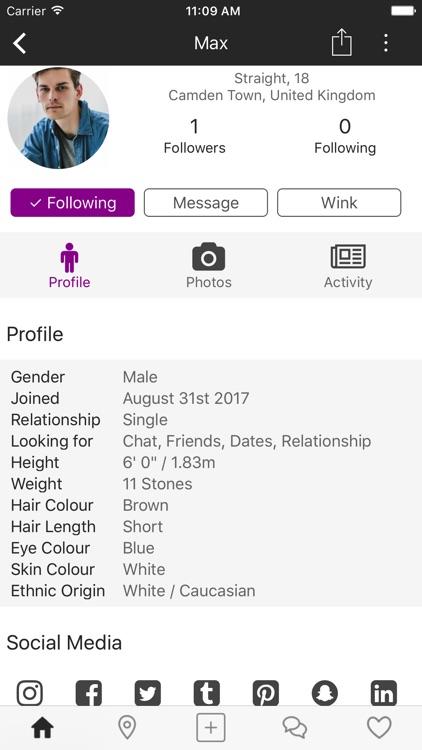 PurpleMates - Make new friends screenshot-3