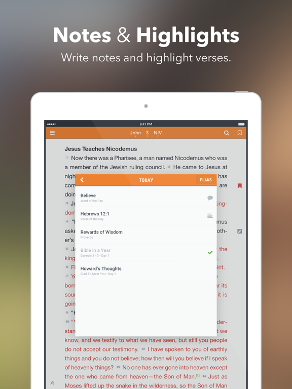 Bijbel +1 iPad app afbeelding 4