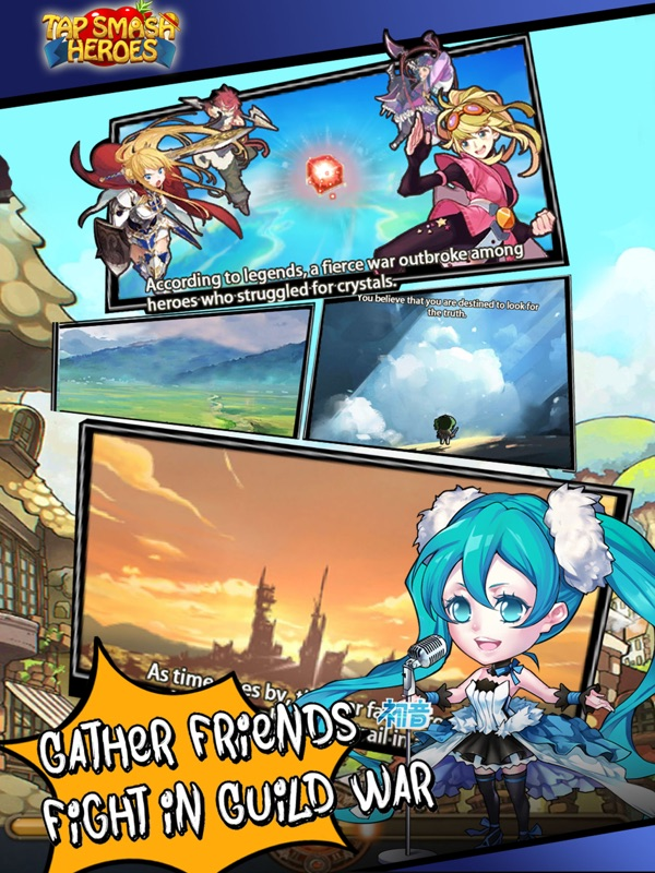 Tap Smash Heroes: Idle RPG - Online Game Hack and Cheat