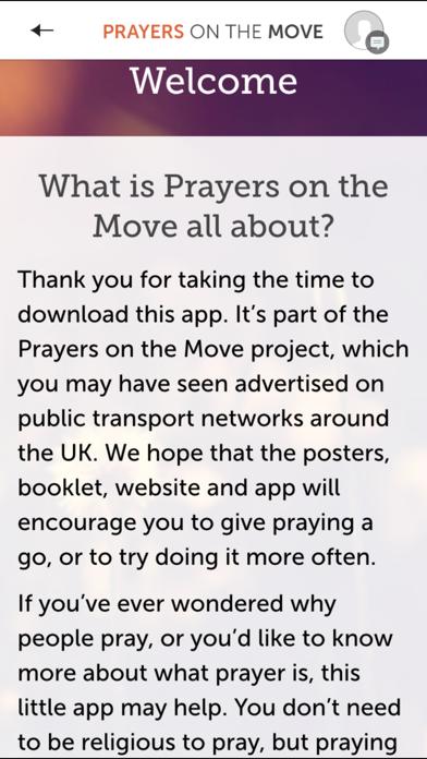 Prayers on the Move Screenshot