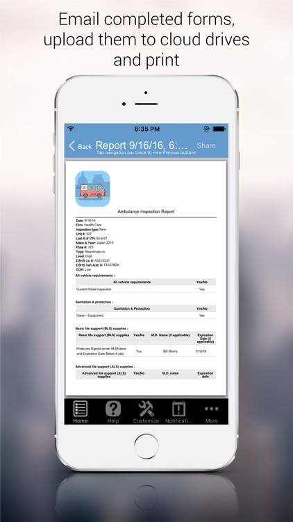 Ambulance Inspection screenshot-4