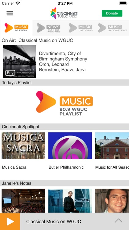 WGUC Public Radio App screenshot-1
