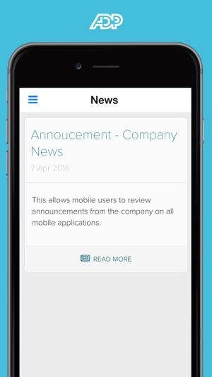 Adp ipay android app