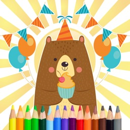 Bear Coloring and Painting Book Full