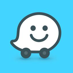 Ícone do app Waze – GPS e Trânsito ao vivo