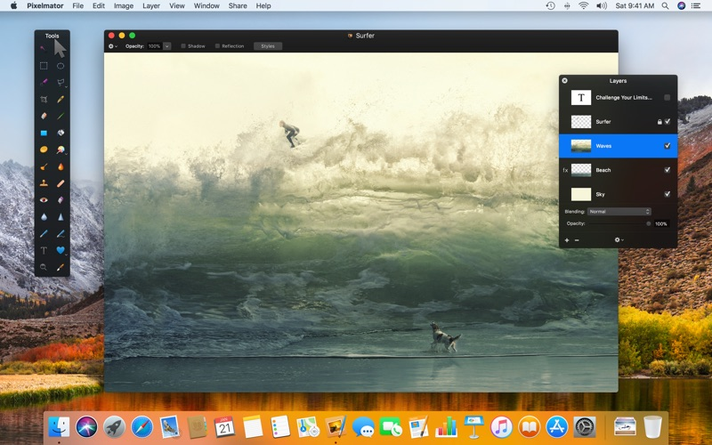 how to open pixelmator pro without metal