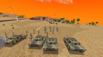 Desert War 3D - Tactical game screenshot three