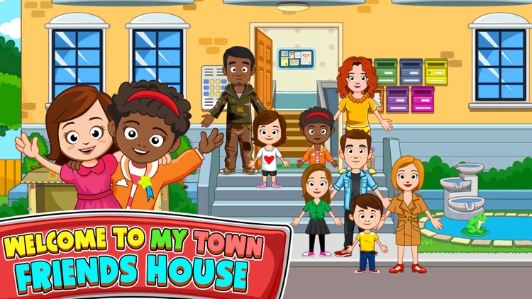 My Town : Best Friends' House screenshot-0