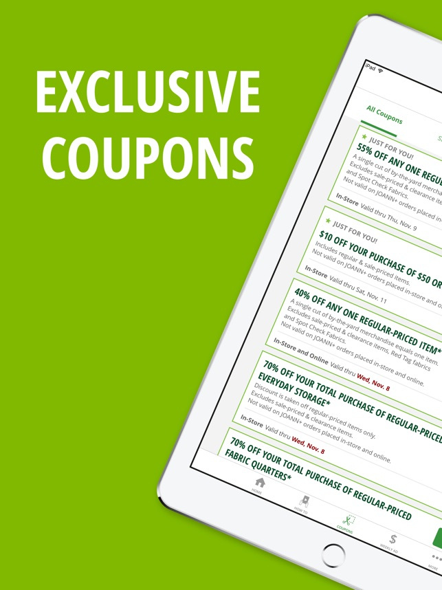 Joann Coupons 2018 - Coupon Codes, Online Printable