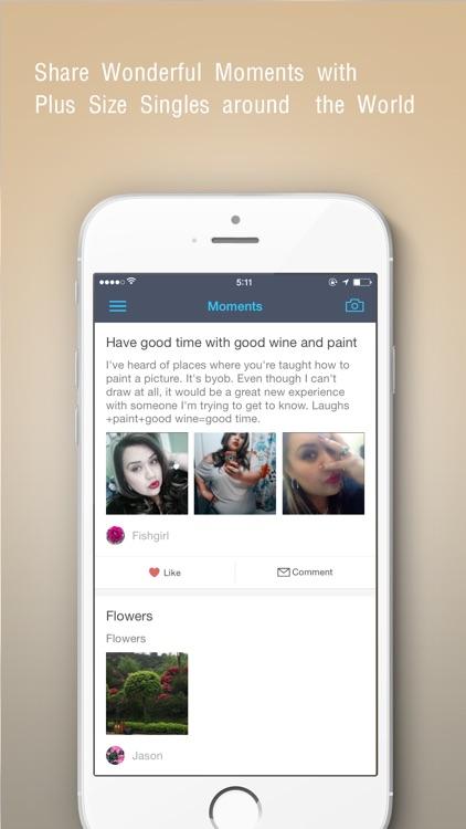 #1 BBW Dating App - Bustr screenshot-3