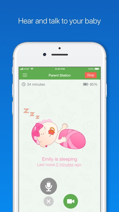 Screenshot for Baby Monitor 3G in India App Store