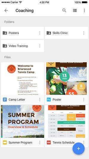 Google Drive – almacenamiento Screenshot