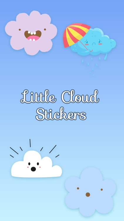 Little Cloud Stickers screenshot-0