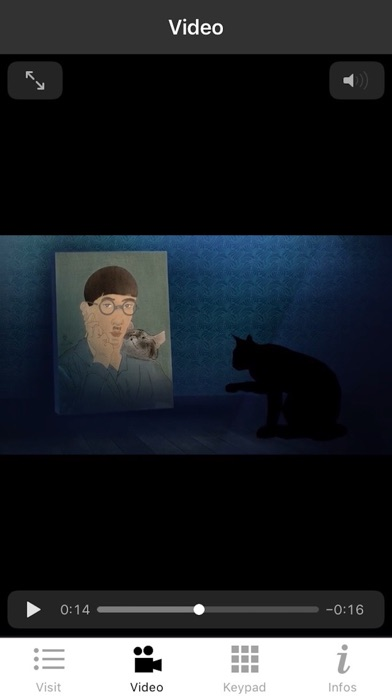 Foujita exhibition screenshot 3