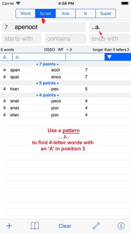 Svenska  Words Finder PRO screenshot-3
