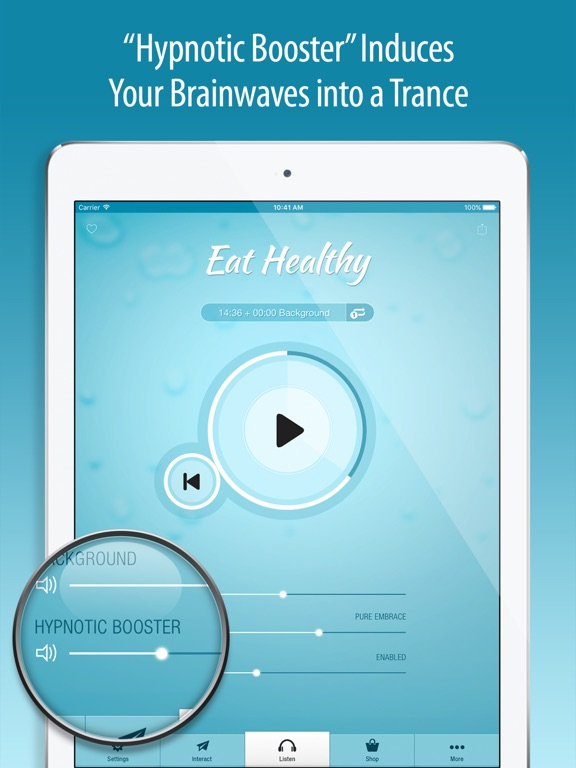 Screenshot #6 pour Eat Healthy Hypnosis PRO