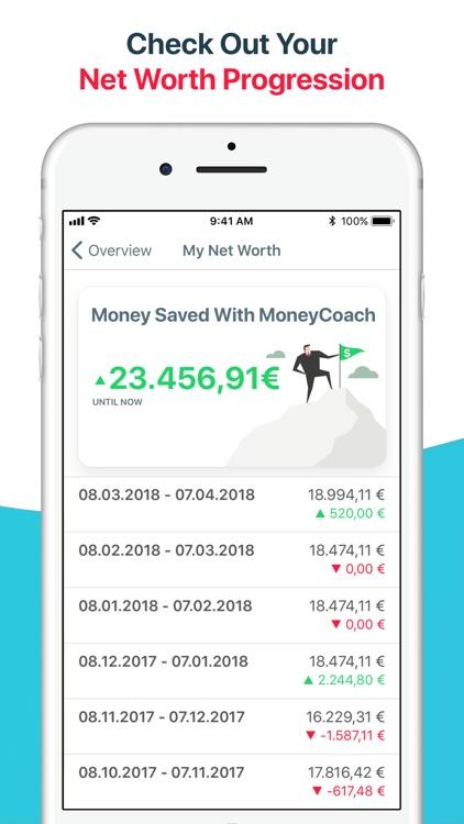 MoneyCoach - Budget & Expenses screenshot-3