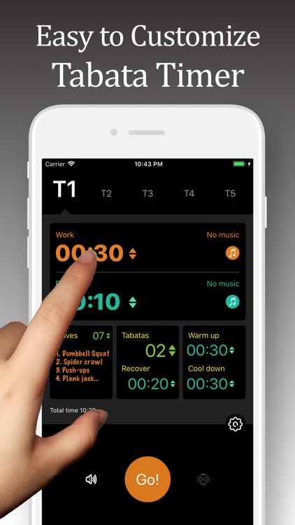 Tabata Timer Pro - GoFit Now screenshot-0