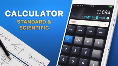 Calculator Hd review screenshots