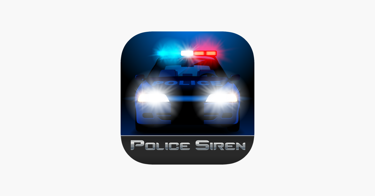Police Siren Lights Sounds On The App Store