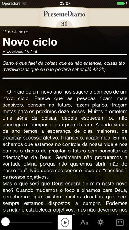 Presente Diário 21 screenshot-3