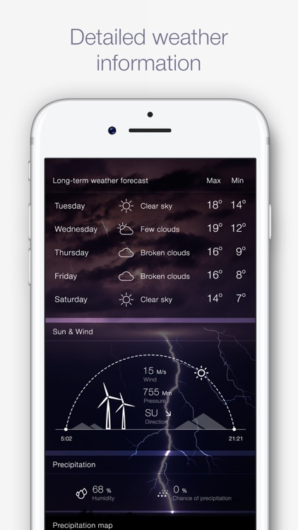 Weather for Me - Weather Forecast & Alerts screenshot-3