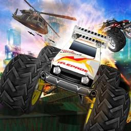 Truck Climb Racing JunkYard Hills