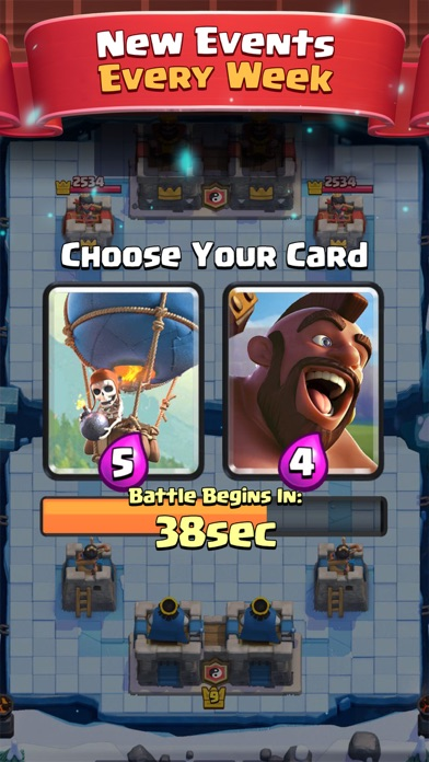 Clash Royale Screenshots
