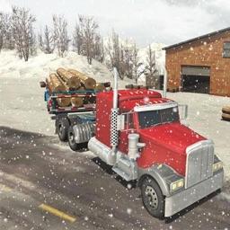 Hill Snow Truck Driver