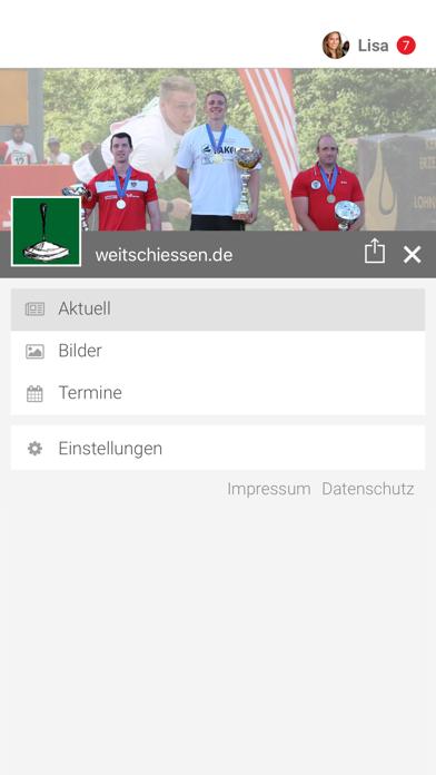 Weitschießen screenshot 2