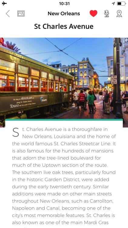 New Orleans Travel Guide & Offline City Street Map