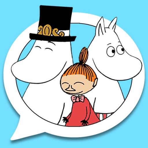 Moomin Sticker App