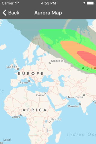 My Aurora Forecast Pro screenshot 4