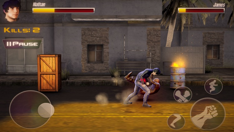 Fight in Streets -Gang Wars 3D screenshot-3