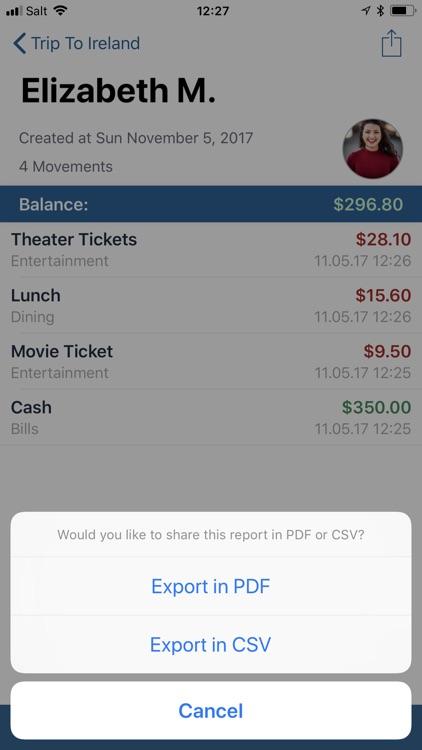 Group Budget - Group Finances screenshot-4