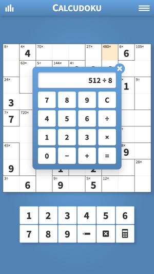 Calcudoku · Math Logic Puzzles on the App Store