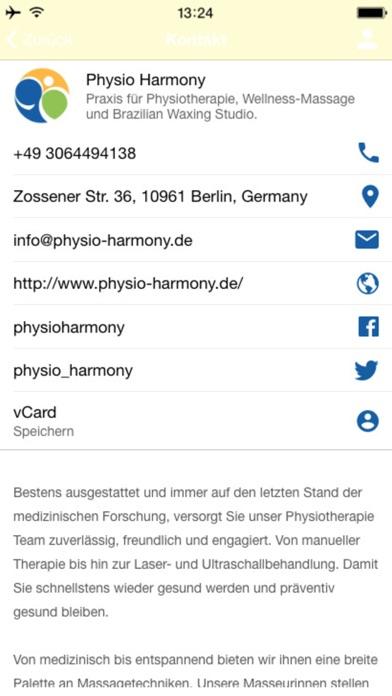 Physio HarmonyScreenshot von 2