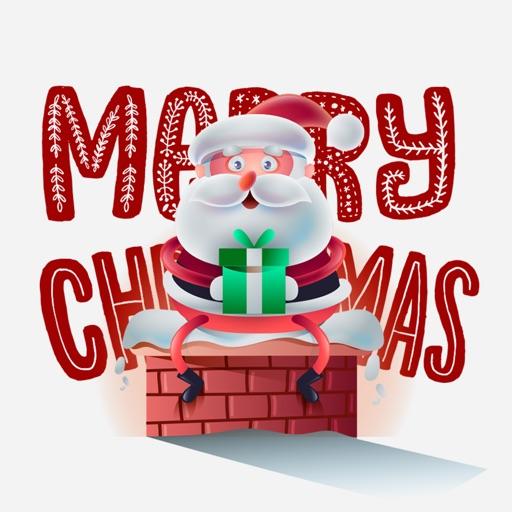 Hey Merry Christmas Stickers