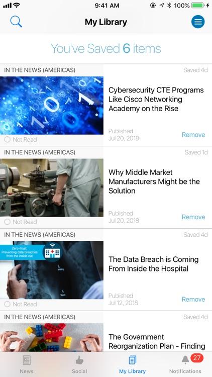 Cisco News screenshot-4