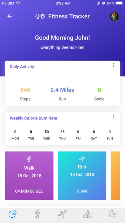 YourHealthWallet: Fitness App screenshot-2