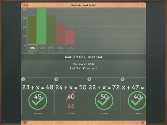 MathBoard screenshot