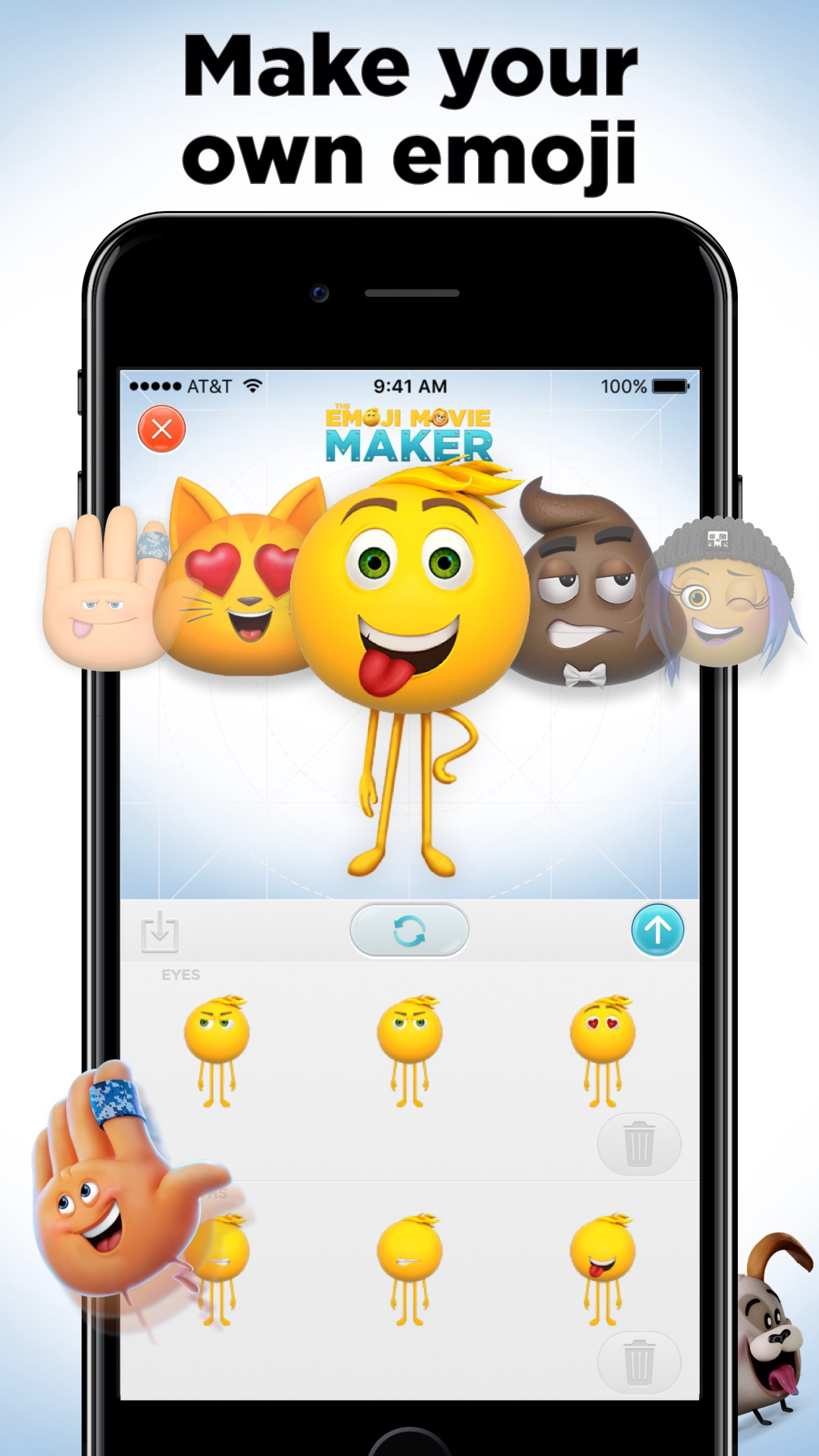 The Emoji Movie Maker Screenshot