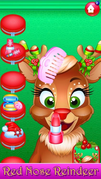 Santa Hair Salon Christmas Spa screenshot-3