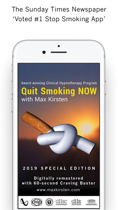 Quit Smoking NOW: Max Kirsten screenshot one
