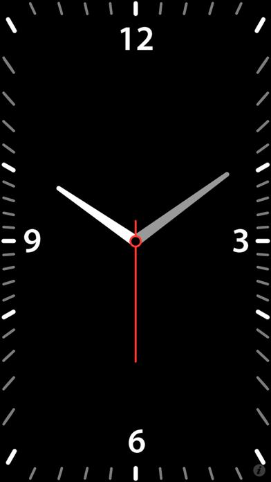 Quick Alarm: Nightstand Clock screenshot one