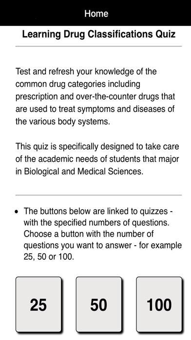 Learning Drug Classifications screenshot one